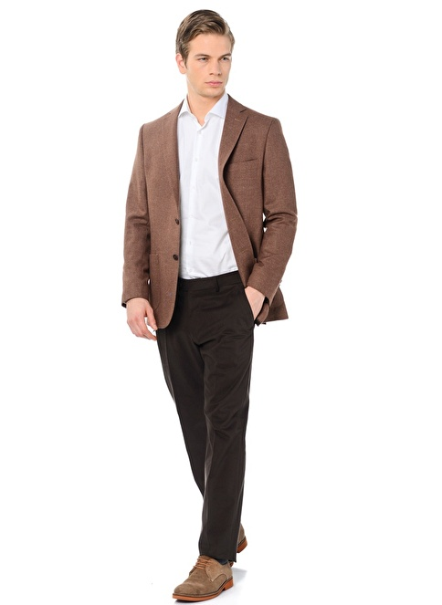 Daffari Slim Fit Chino Pantolon Kahve